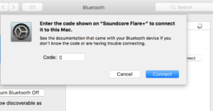 SoundCore fixed bluetooth Mac
